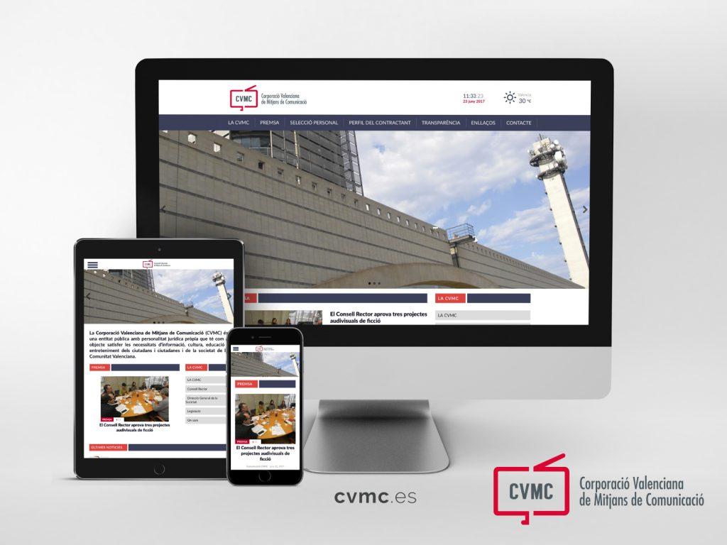 Nova web CVMC